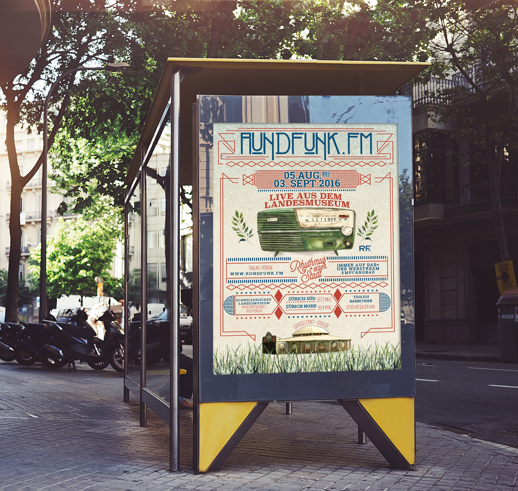 Free-Bus-Stop-Mockup